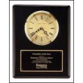 BC55 Black piano finish vertical wall clock.